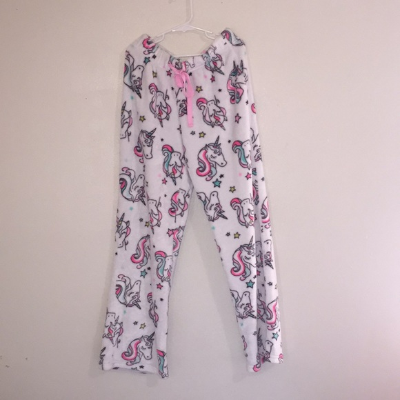 Justice Other - Unicorn Fluffy Pajama Pants 😍😍!
